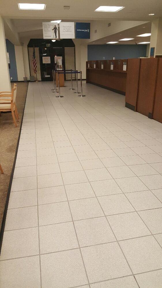 Bank Floor Cleaned Marble Restoration Los Angeles
